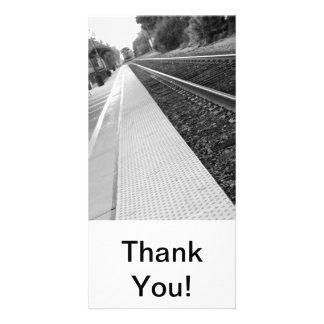 Ventura Train Station Photo Card Template
