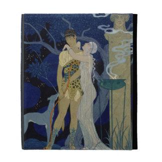 Venus and Adonis (colour litho) iPad Folio Cases