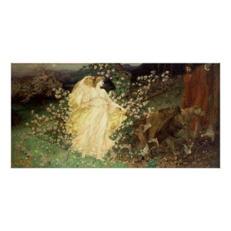 Venus and Anchises (1890) by William Richmond Poster