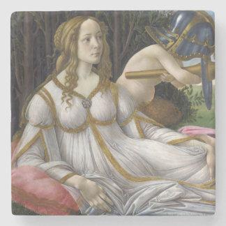 Venus and Mars by Sandro Botticelli Stone Beverage Coaster