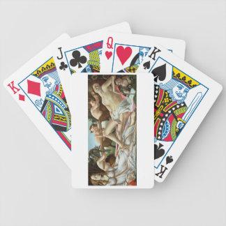 Venus and Mars, c.1485 (tempera and oil) Poker Deck