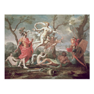 Venus Arming Aeneas, 1639 Postcard