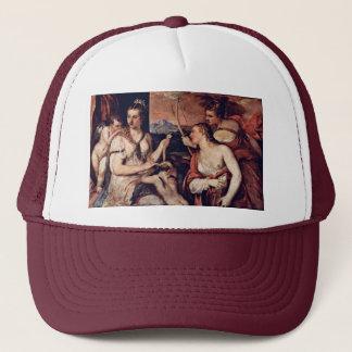 Venus Combines Amor Eyes By Tizian Trucker Hat