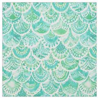 VENUS DE MER Aqua Mermaid Scales Fabric