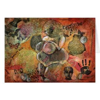"""Venus Favors The Bold"", a Venus greeting card"