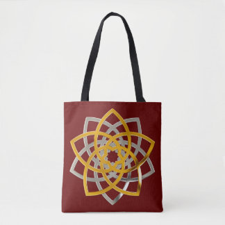 Venus Flower of Love DUO - fineART gold silver Tote Bag