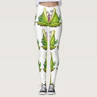 venus flytrap monster leggings