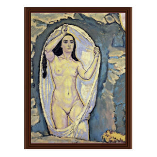 Venus In The Grotto By Moser Koloman (Best Quality Postcard