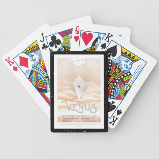 Venus Obsevatory for Mars transit vacation advert Bicycle Playing Cards