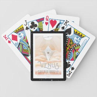 Venus Obsevatory for Mars transit vacation advert Poker Deck