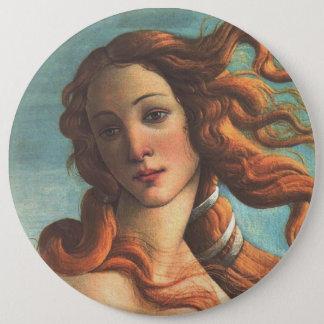 Venus on the Half Shell (detail) 6 Cm Round Badge