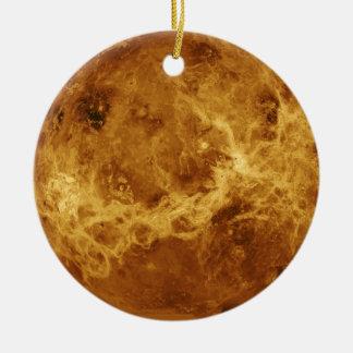 Venus Planet Photo Ceramic Ornament