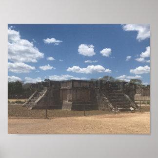 Venus Platform – Chichen Itza, Mexico Poster