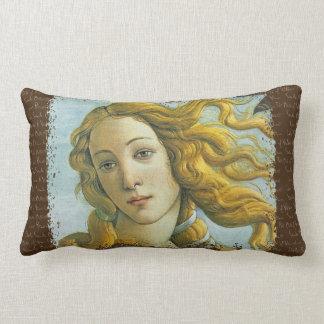 Venus * Sandro Botticelli Lumbar Cushion