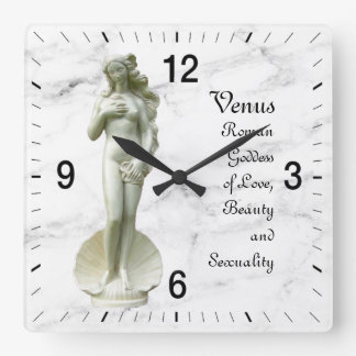 Venus Square Wall Clock