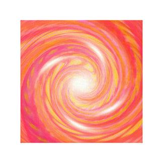 Venus vortex canvas print