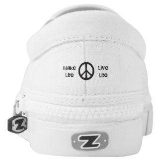 Veprak Custom Zipz Slip On Shoes