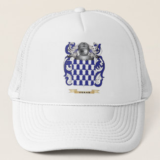 Veras Family Crest (Coat of Arms) Trucker Hat