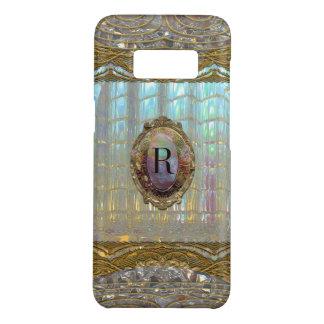Veraspeece Baroque VIII Monogram Girly Case-Mate Samsung Galaxy S8 Case