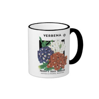 Verbena, Prout's Seed House Coffee Mugs