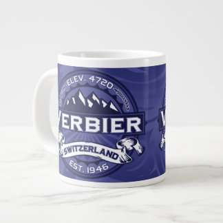 Verbier Logo Midnight Large Coffee Mug