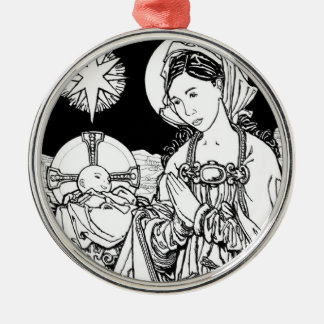 Verbum Caro Factum Est Metal Ornament