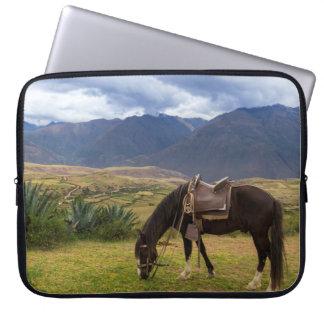 Verdant Sacred Valley Horse II Laptop Sleeve
