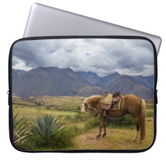 Verdant Sacred Valley Horse Laptop Sleeve