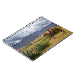 Verdant Sacred Valley Horse Notebook