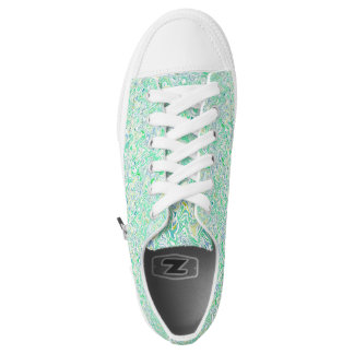 Verde Blue - Low Tops - Shoes Printed Shoes