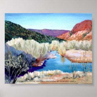 Verde Canyon, Arizona Poster