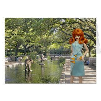 Verdi, Houston Zoo Entrance Card