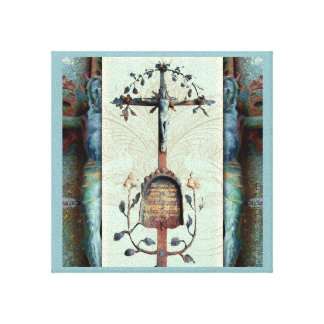 Verdigris and Rust Canvas Print