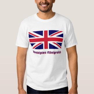 Vereinigtes Königreich Flagge mit Namen T Shirt