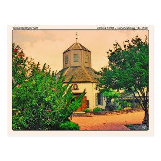 Vereins Kirche (1), Fredericksburg, TX Postcard