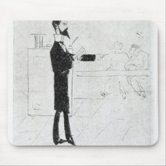 Verlaine teaching at the Institution Mouse Pad