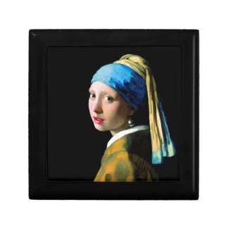 Vermeer - Girl with a Pearl Earring Small Square Gift Box