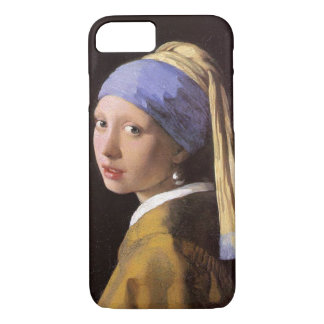 Vermeer Girl with the Pearl Earring iPhone 8/7 Case