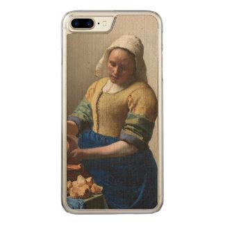 Vermeer - The Milkmaid Carved iPhone 7 Plus Case