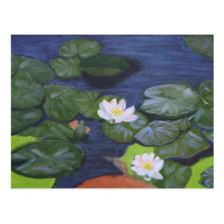 Vermeer's WaterLilies Postcard
