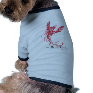 Vermilion Bird (black) Doggie Tshirt