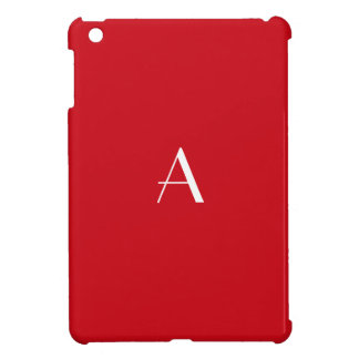 Vermilion Red iPad Mini Case
