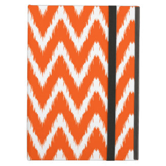 Vermillion Asian Moods Ikat Chevrons Cover For iPad Air