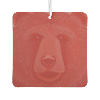 Vermillion Bear Air Freshener