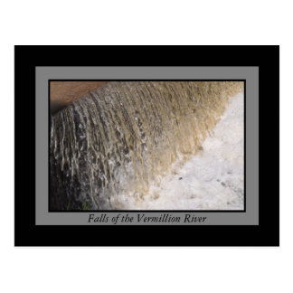 Vermillion Falls Postcard