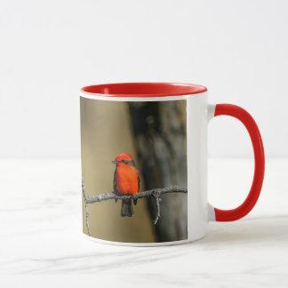 Vermillion Flycatcher Accessories and Gifts Mug