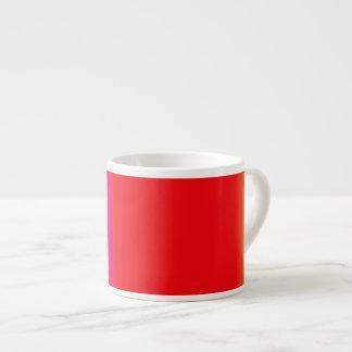 Vermillion Minimalism Espresso Mugs