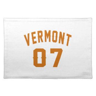 Vermont 07 Birthday Designs Placemat