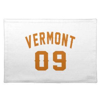 Vermont 09 Birthday Designs Placemat