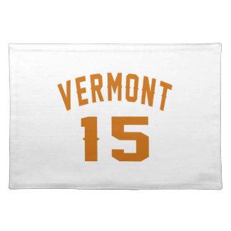 Vermont 15 Birthday Designs Placemat